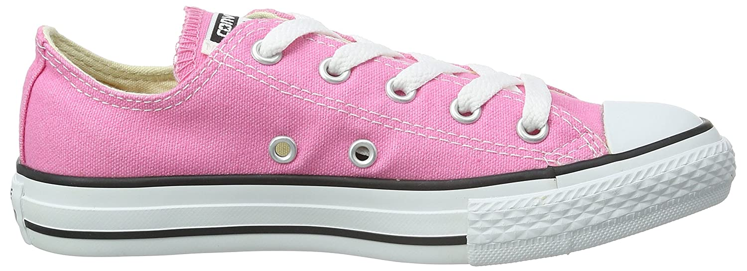 Converse Kids' Chuck Taylor All Star Canvas Low Top Sneaker B0010XYRL4 9 M US Toddler|Pink