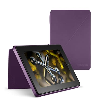 Purple 4th Generation Standing Protective Case for Fire HD 7