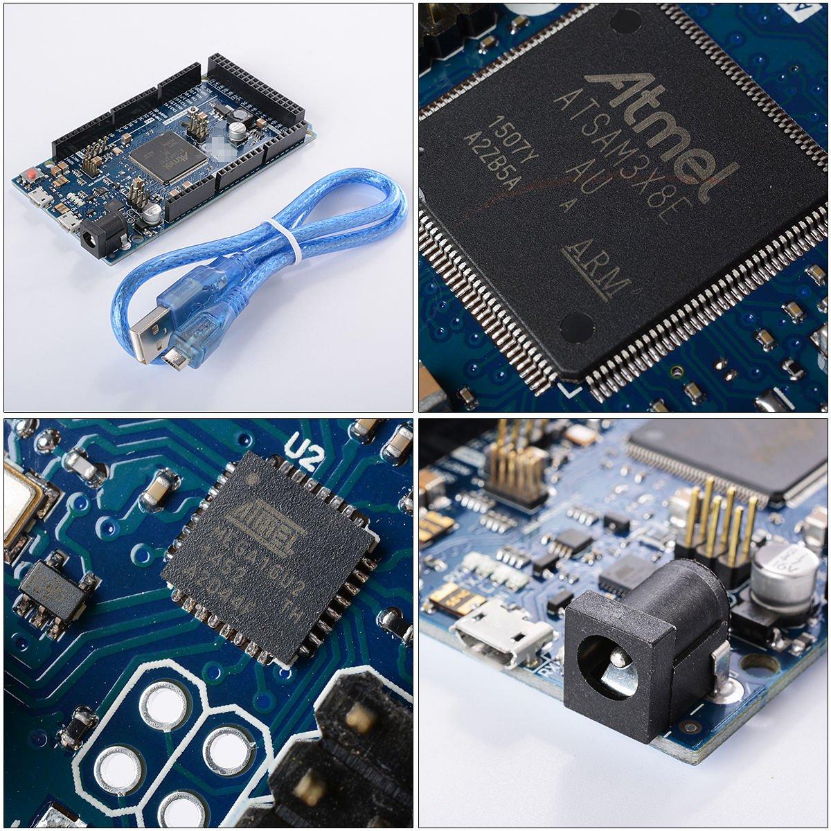 DUE R3 Board SAM3X8E 32-bit ARM Cortex-M3 And Arduino Compatable USB