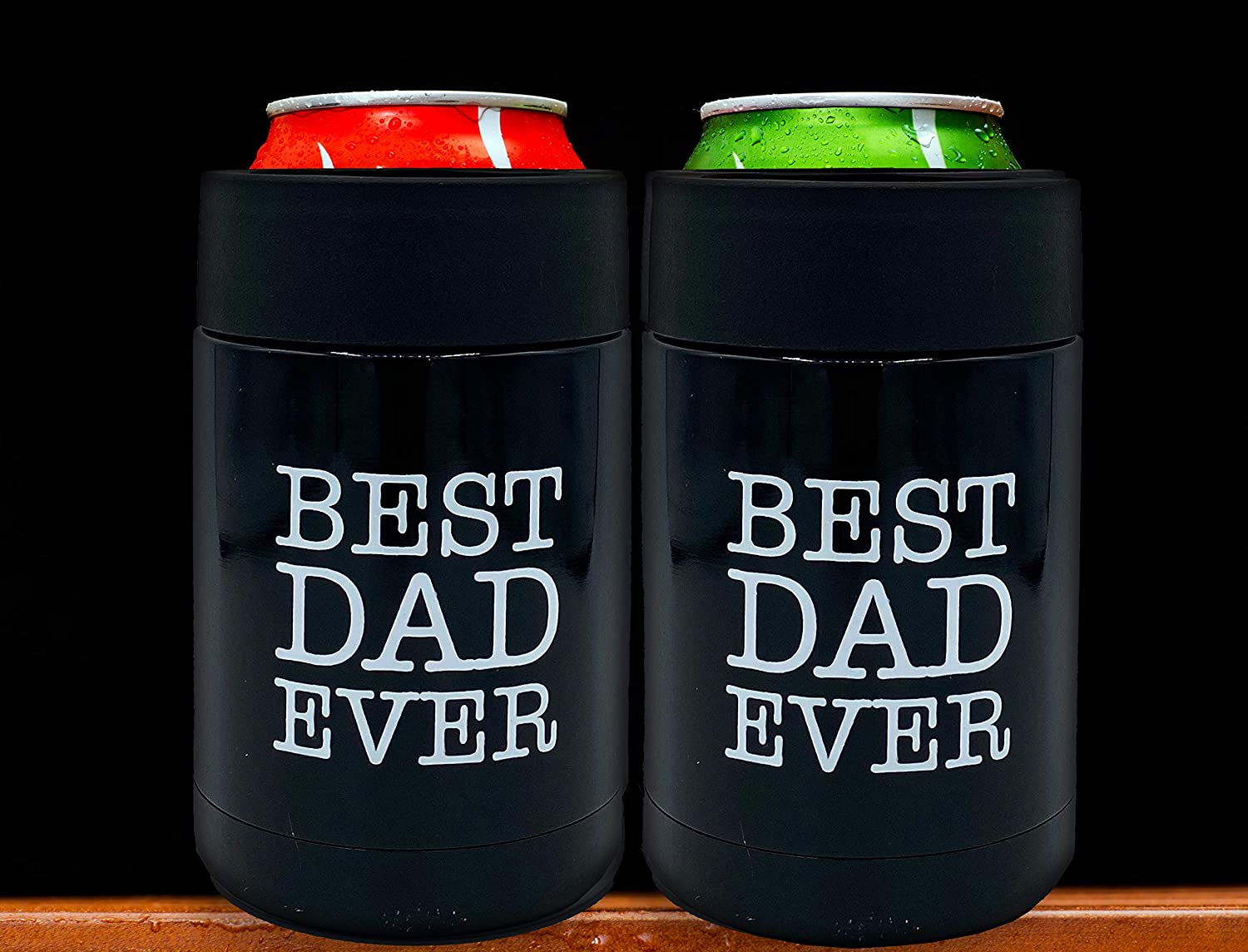 Stainless Steel Drink Thermos Holder Fathers Day Coozy Gift Cozy ...