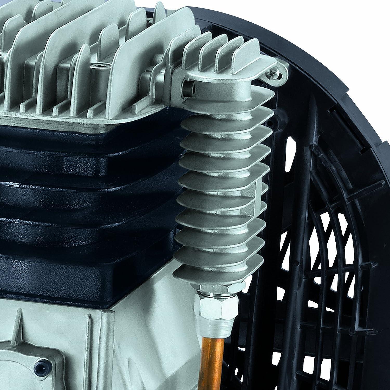 Einhell Kompressor TE-AC 480//100//10 D 3,0 kW, 100 L, Ansaugleistung 480 l // min, 10 bar, /ölgeschmiert, Riemenantrieb, gro/ße R/äder und Halteb/ügel