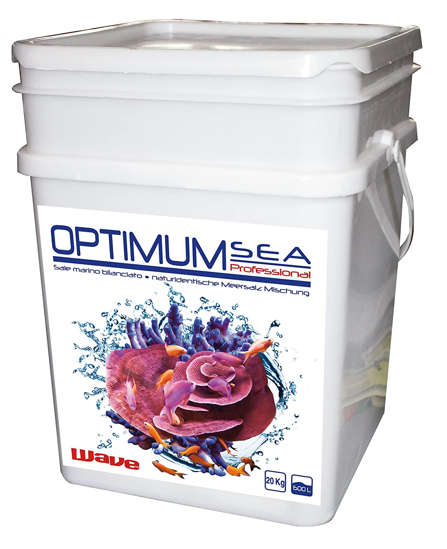 Wave A0020524 Optimum Sea Professional Meersalz plus Calcium und Magnesium, 20 kg