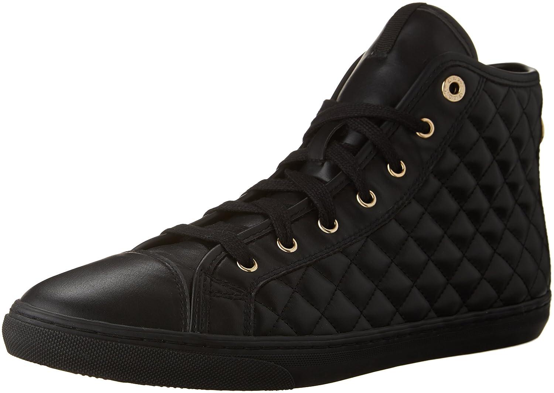 Geox D Giyo, Zapatillas Altas para Mujer 40 EU|Negro (Black C9997)