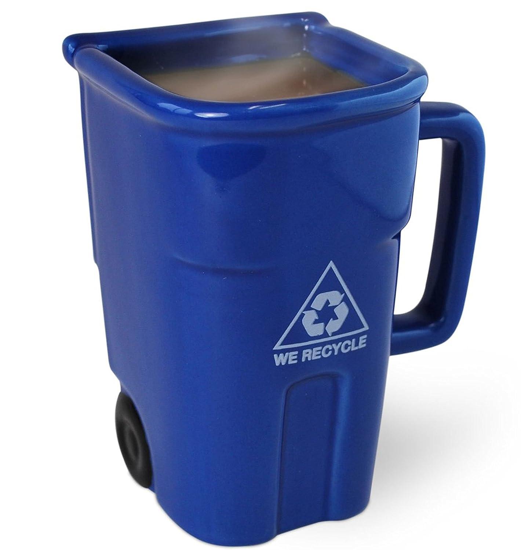 Taza basurero de reciclado