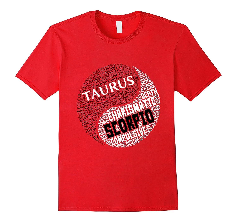Zodiac Facts: Men & Women Taurus and Scorpio T-shirt-Rose