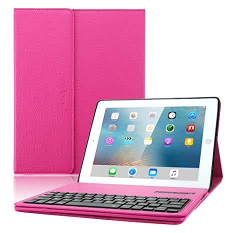 5c6ff11cfb iPad 2 3 4 case with keyboard, Boriyuan Leather Smart Case Stand Folio Cover  with
