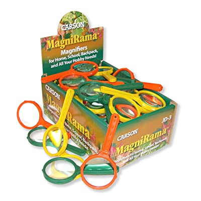 Carson MagniRama 3X Magnifying Glasses - Pack of 50 (JD-3MU): Sports & Outdoors