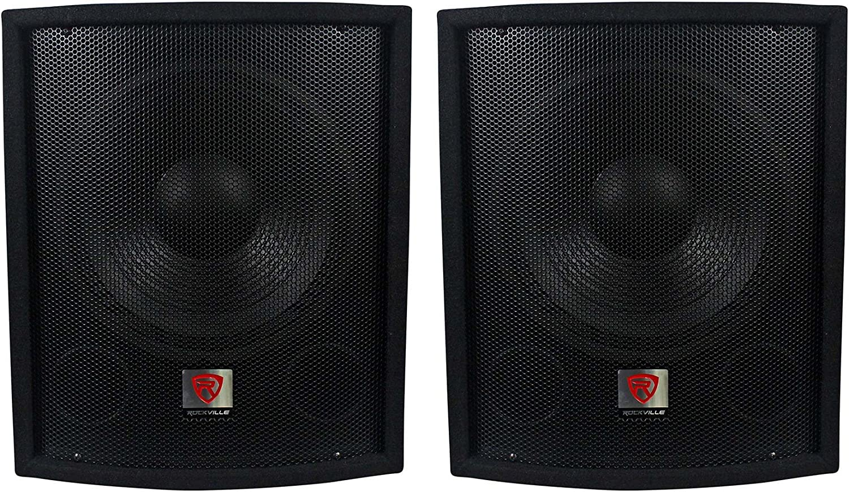 "(2) New Rockville SBG1128 12"" 1200 Watt Passive Pro DJ Subwoofers Subs 81leKWrkieL"