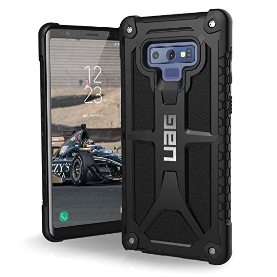 best service 539b4 43658 URBAN ARMOR GEAR UAG Samsung Galaxy Note 9 Monarch Feather-Light Rugged  [Black] Military Drop Tested Phone Case