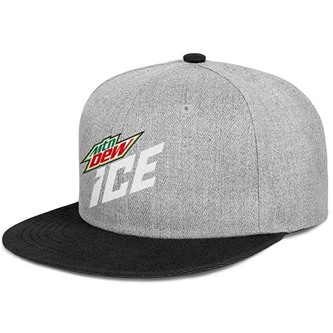 a7a67bcdd Amazon.com: Mountain Dew Ice Snapback Baseball Cap Professional Caps ...