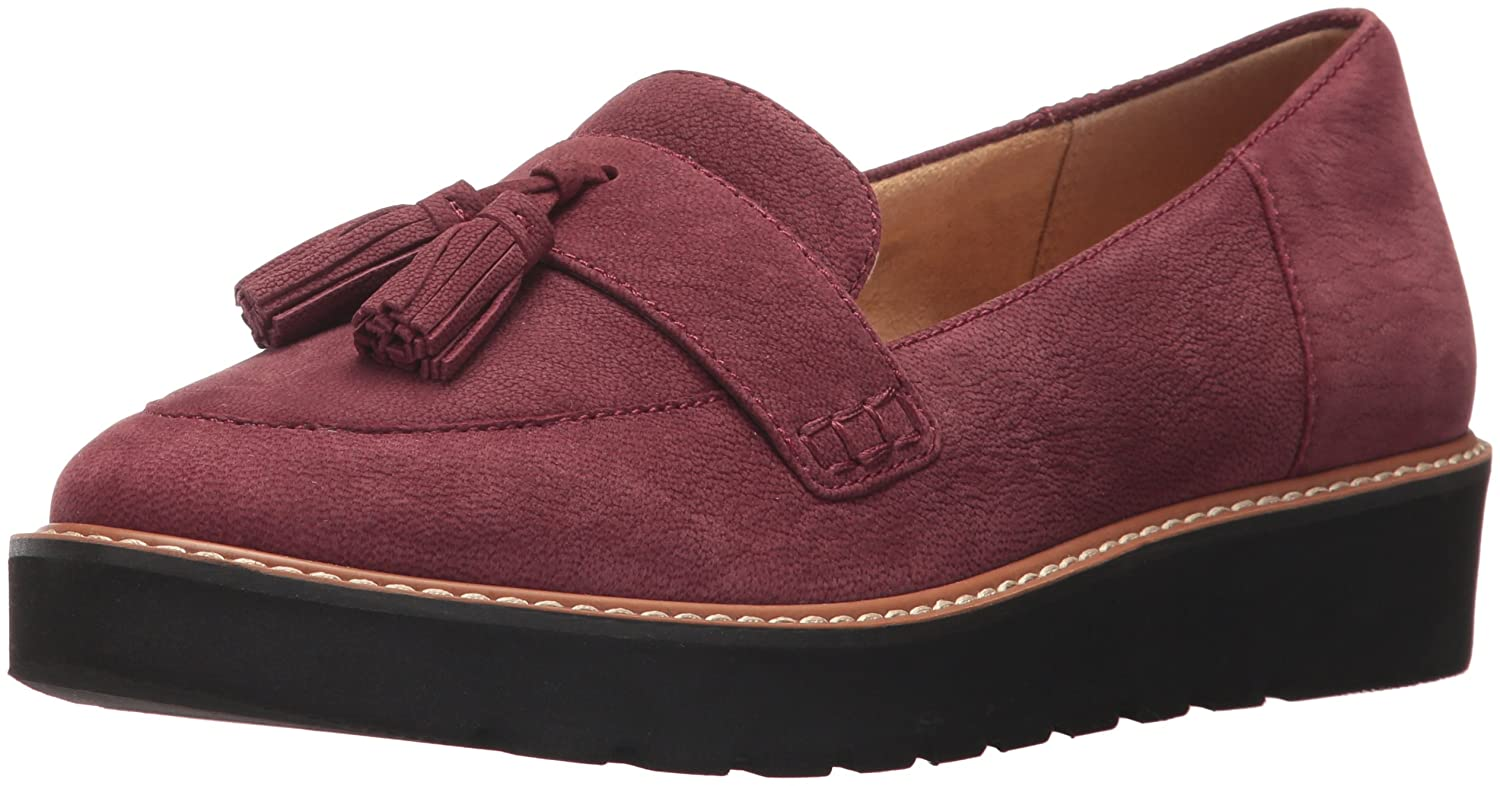 Naturalizer Women's August Slip-on Loafer B06X6HQ3LW 8 W US|Bordo