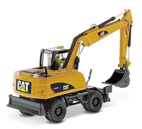 CAT M316D excavadora de ruedas