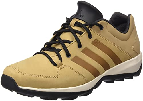 adidas Climacool Daroga Plus Lea Herren Sneaker Outdoor Trail Running Shoes  Brown B35243, Braun,