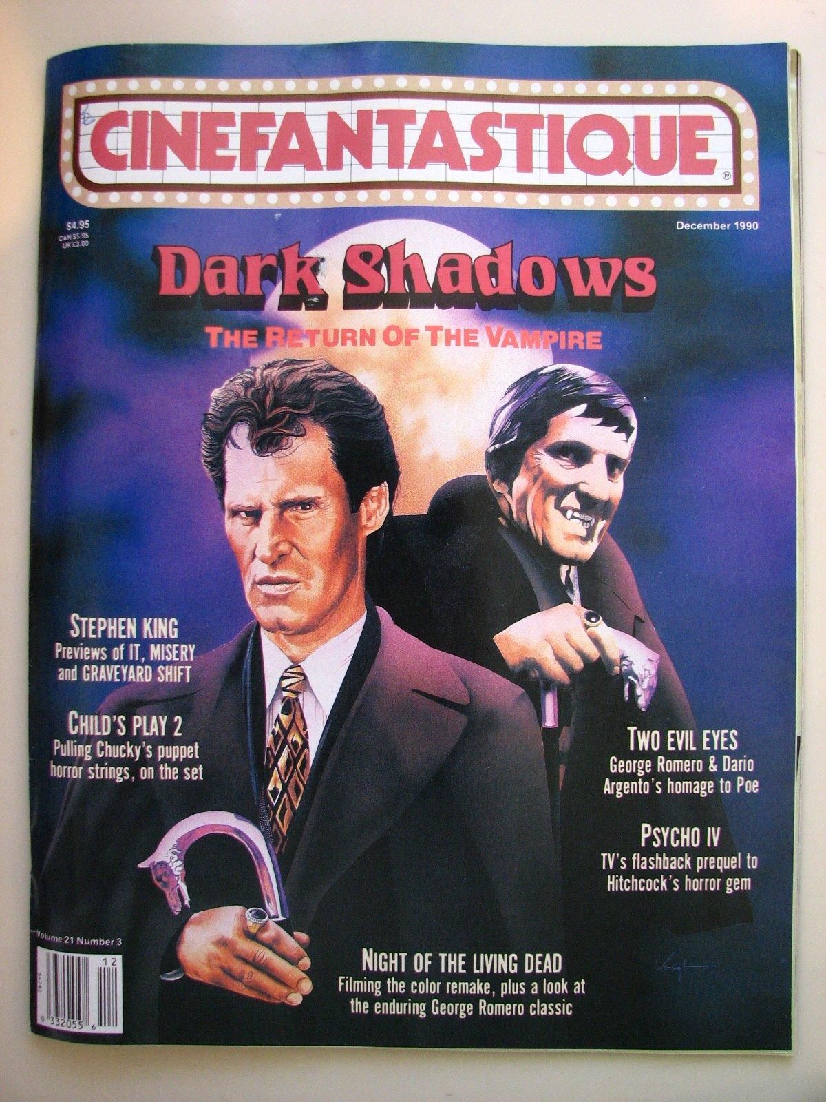 Cinefantastique Vol  21 #3 / Dark Shadows, Psycho IV