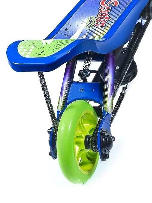 Space Scooter - Patinete Infantil, Color Azul (X360 Blue)