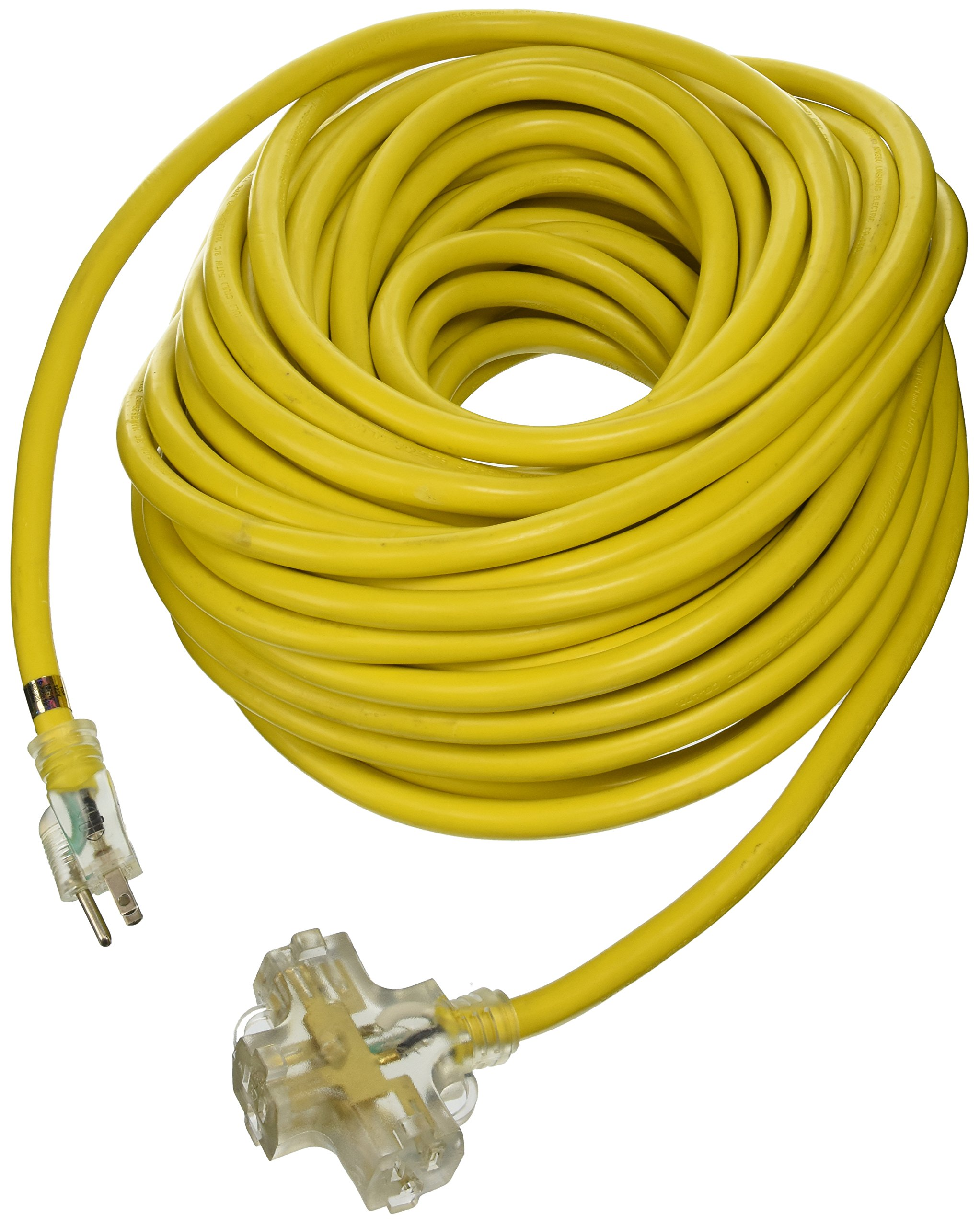 ATE Pro. USA 70050 Extension Cord, 100', 10 Gauge, 3-Prong by ATE Pro. USA
