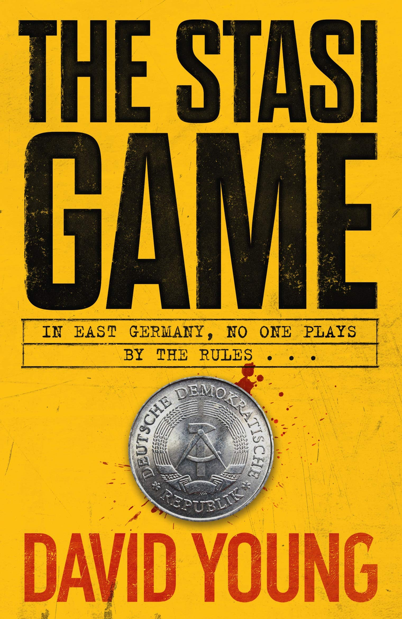 Cover of The Stasi Game by David Young