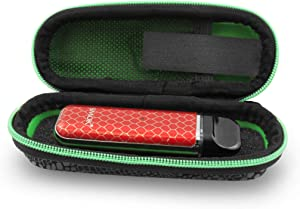 CloudTen Stylish Travel Carry Case Compatible with Smok Nord, Novo Starter Kit, Extra Coils, Juice Pods, Charger and Accessories Includes Case Only