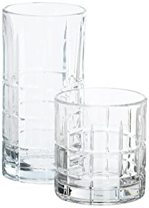 Anchor Hocking 69888L13 Anchor Manchester 16Pc. Set large Clear