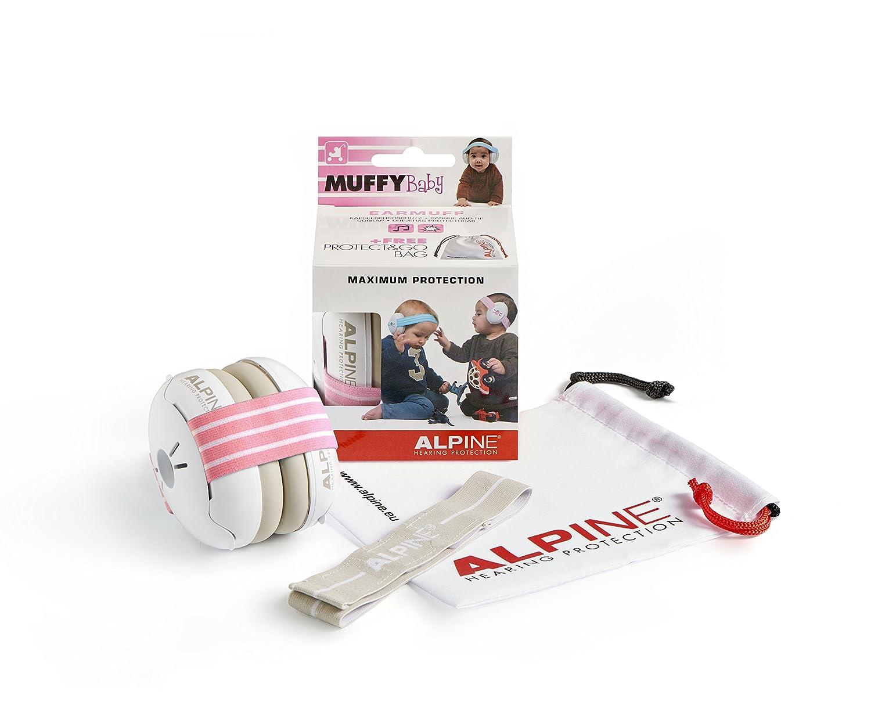 Alpine Muffy Baby Schwarz Kapselgeh/örschutzer f/ür Babys und Kleinkinder