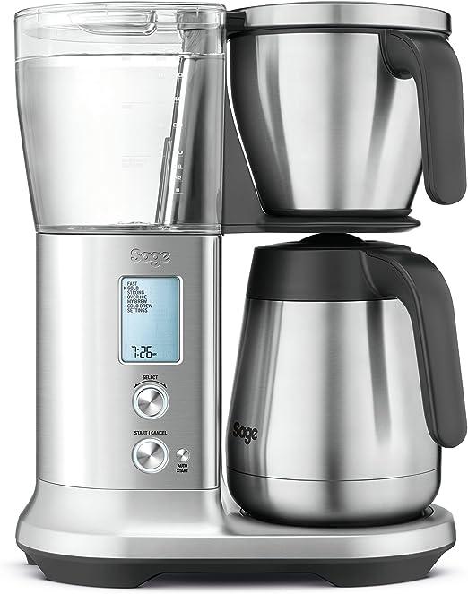Sage Appliances Cafetera Eléctrica Thermal, aspecto de acero ...