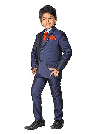 Amazon Ahhaaaa Kids Party Wear 5 Pc Boys Formal Suit Vest