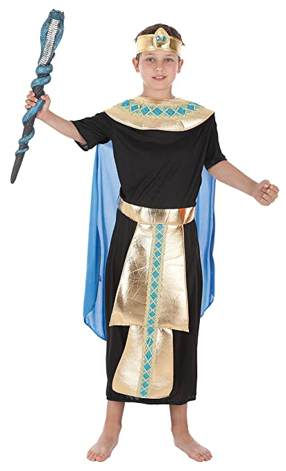 Creaciones Llopis - Disfraz de faraón para niños de 3/6 años ...