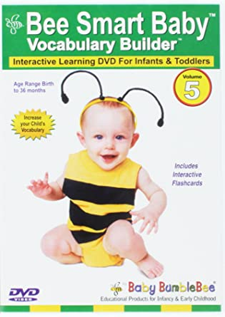 amazon co jp bee smart baby vocabulary builder 5 dvd import