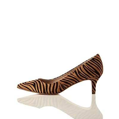 Brand - find. Point Toe Court Closed Toe Kitten Heels: Shoes
