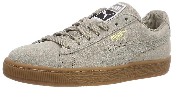 Puma Suede Classic Sneaker Damen Herren Unisex Wildleder Grau (Elephant Skin)