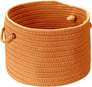 product image for Colonial Mills BR74 14 by 14 by 10-Inch Boca Raton Solid Storage Basket, Rust
