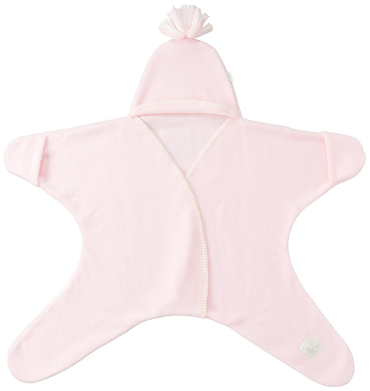 Tuppence and Crumble Star Baby Wrap Baby Pink Size Medium (4-10 mths)