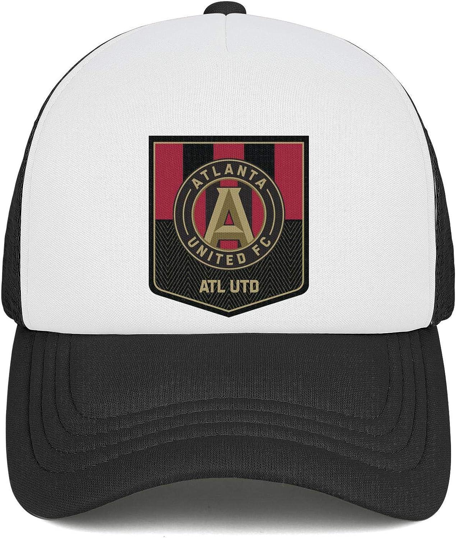 LiJiCai Unisex Atlanta-Cool-United-Logo Adjustable Cowboy Hat Printed Baseball Cap Snapback Hat Football Hats