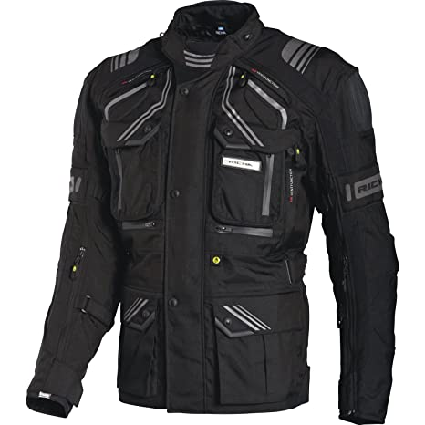 2TOA100/S - Richa Touareg Motorcycle Jacket S Black