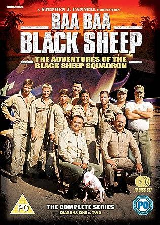 Amazon com: Baa Baa Black Sheep - The Complete Series [DVD
