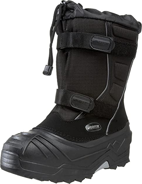 Charcoal//Blue Baffin EPICJ001 Kids Young Eiger Boot 3