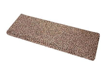 Dean Premium Pet Friendly Tape And Adhesive Free Non Slip Bullnose Carpet  Stair Treads
