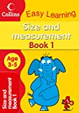 Size and Measurement: Age 3-5 (Collins Easy Learning Age 3-5)