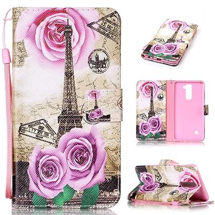 new concept a6d83 38f38 mellonlu LG Stylus 2 Case, LG G Stylo 2 Case, Flip Wallet Cute Case for LG  G Stylo 2 LS775 / Stylus 2 (Not fit LG Stylo 2 Plus/LG Stylus 2 Plus)