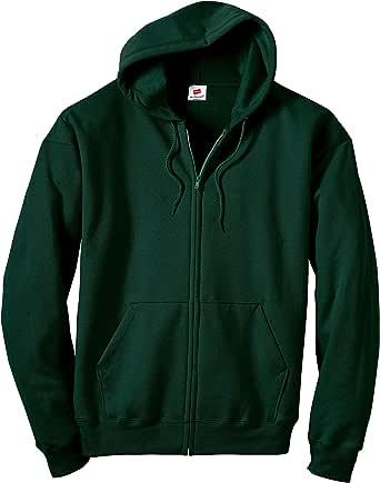 Hanes Men's Full Zip Eco Smart Fleece Hoodie