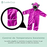 Cuddle Club Fleece Baby Bunting Bodysuit for