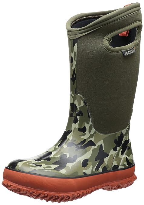 8bad6fc6f076 Bogs Kids Classic Camo Waterproof Winter   Rain Boot (Toddler Little Kid Big  Kid)  Amazon.ca  Shoes   Handbags