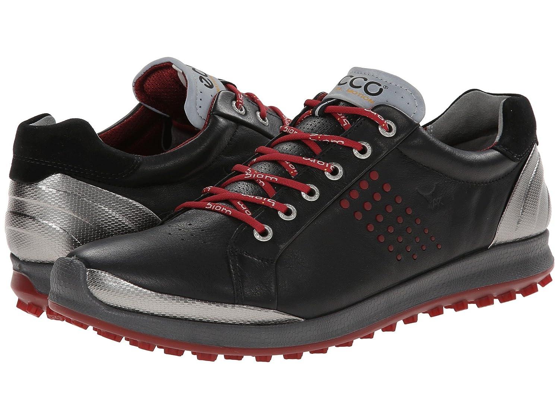 [エコー ゴルフ] ECCO Golf メンズ BIOM Hybrid 2 スニーカー [並行輸入品] B01BWENNJM 43 (US Men's 9-9.5)(27.0-27.5cm) - D - Medium Black/brick