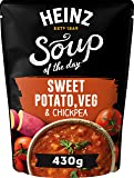 Heinz Soup of The Day - Sweet Potato, Veg and Chickpea Soup, 430g
