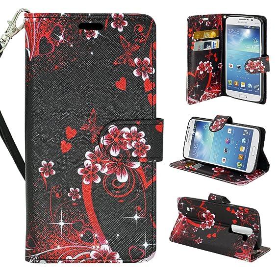 pretty nice 74c49 f991b Motorola Moto G4 / Moto G4 Plus Wallet Case, Customerfirst, Flip Cover with  Card Holder and Kickstand Flip Case for Motorola G4 / Moto G4 Plus P (Love  ...