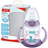 NUK First Choice 10215331 dricksflaska, temperaturkontrolldisplay, BPA läckagesäker, 150 ml, lila, 1 stycke, lila 135 g