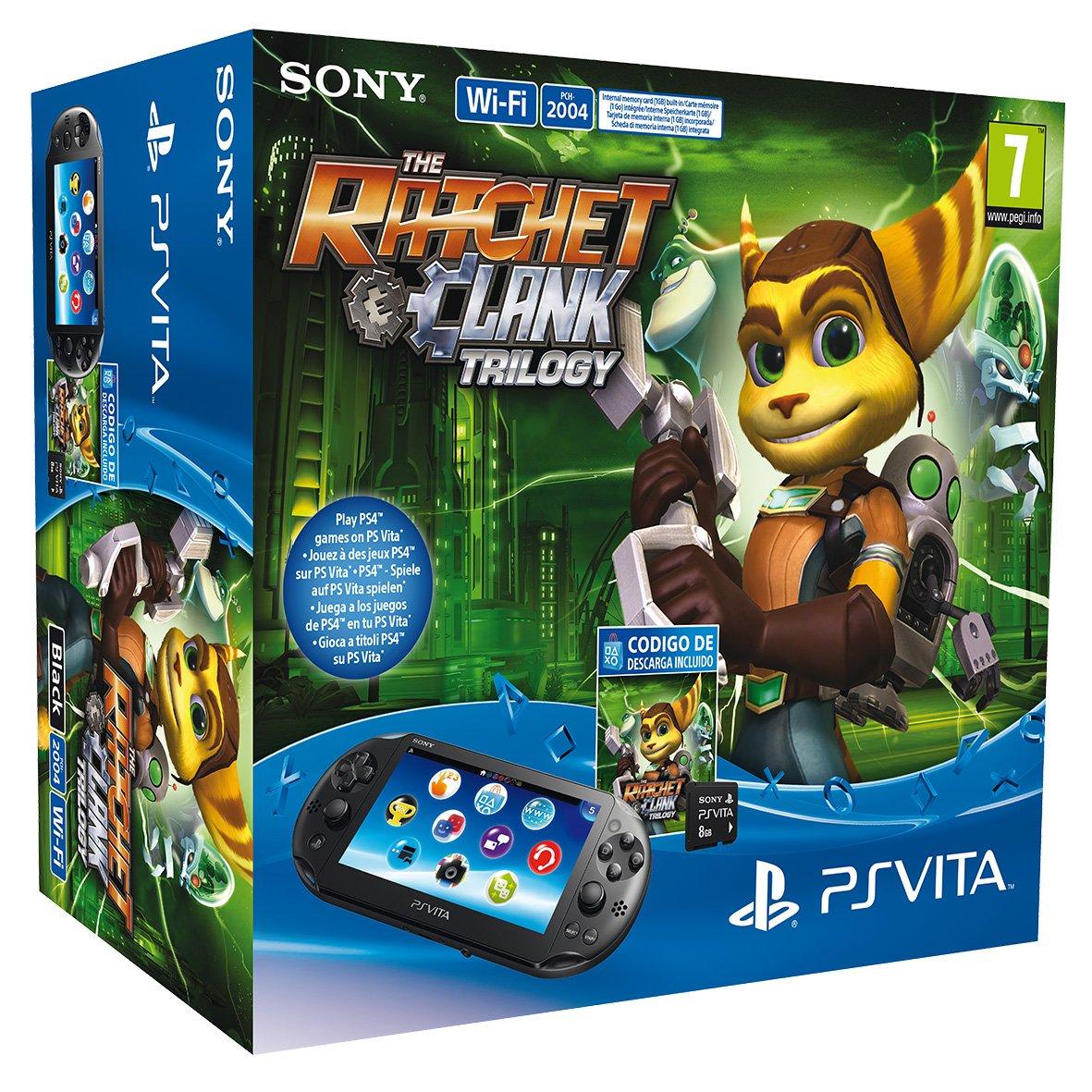 PlayStation Vita - Consola portable + Tarjeta De 8 GB + ...
