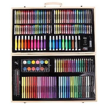 Anladia Set de Dibujo y Pintura Caja Colores para Niños ...