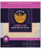 Siete Almond Flour Tortillas, Paleo Approved, 8 count (3 Pack - 24 Tortillas)