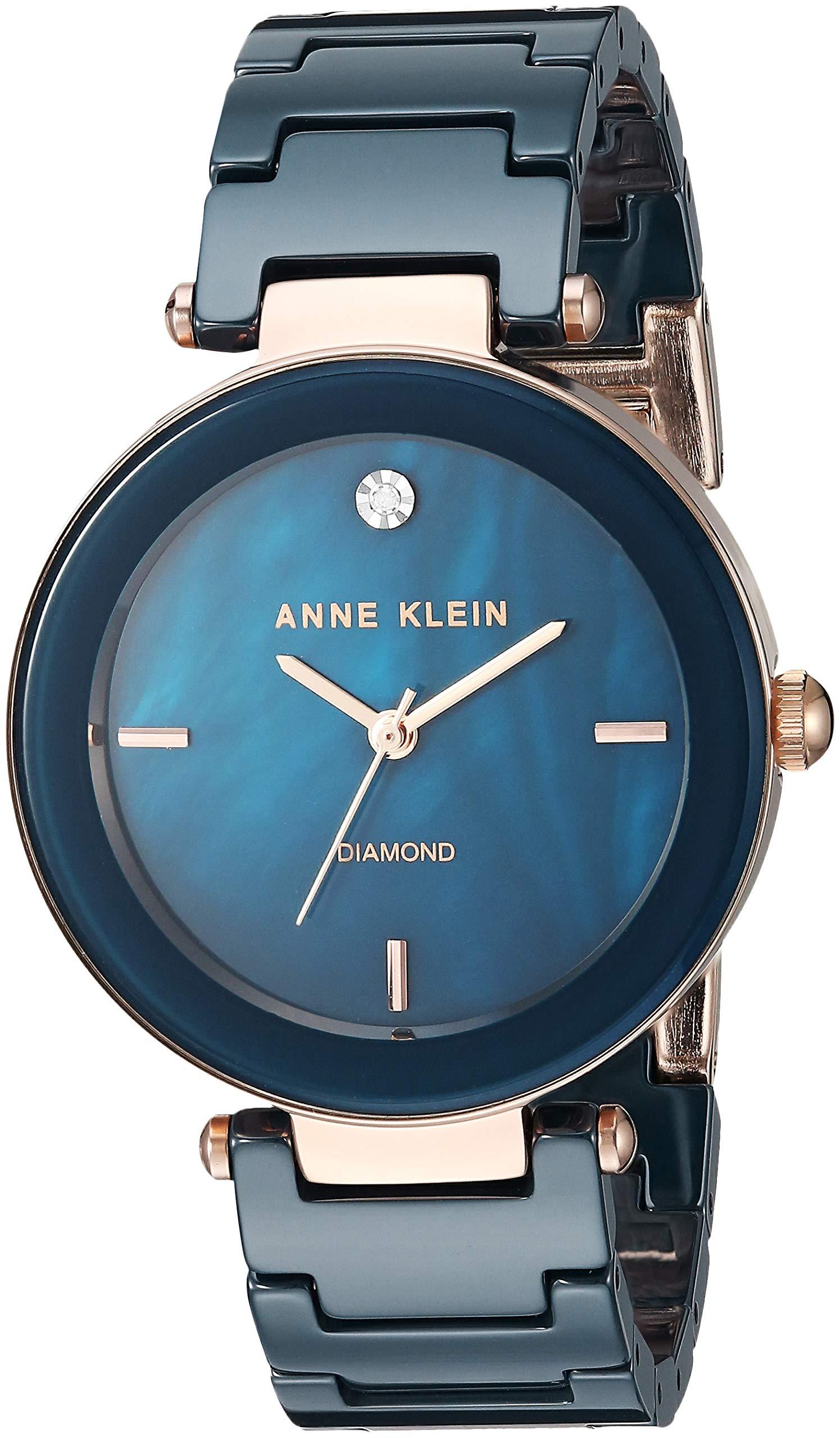 Anne Klein Dress Watch (Model: AK/1018RGNV) by Anne Klein